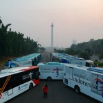 Bus Wonderful Asian Games Resmi diluncurkan