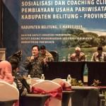 Kembangkan Usaha Pariwisata Belitung Melalui KUR