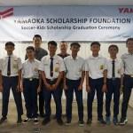 16 Siswa Berbakat di Bidang Sepakbola Mendapat Beasiswa dari Yanmar