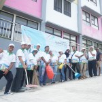 Gerakan Clean Up Day  Rusunawa di 34 Provinsi
