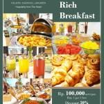Hotel Santika Kelapa Gading Sajikan Breakfast Murah dan Meriah