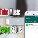 Bikin Status Melalui Musik di WhatsApp