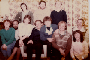 The last full clan gathering 1984