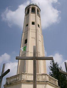 Faro Voltiano a Brunate - Dorsale del Triangolo Lariano