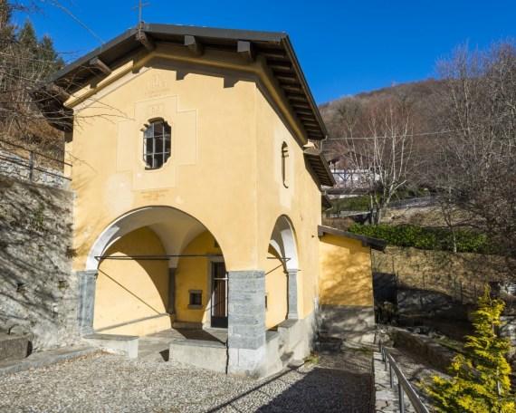 Chiesa del Santo Crocifisso del Lavello - Sormano