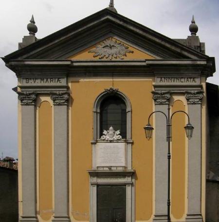 Chiesa Parrocchiale Annunciata - Barni - La Madonnina