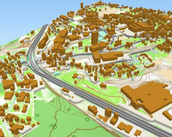 Mappe 3D con QGIS - GIS