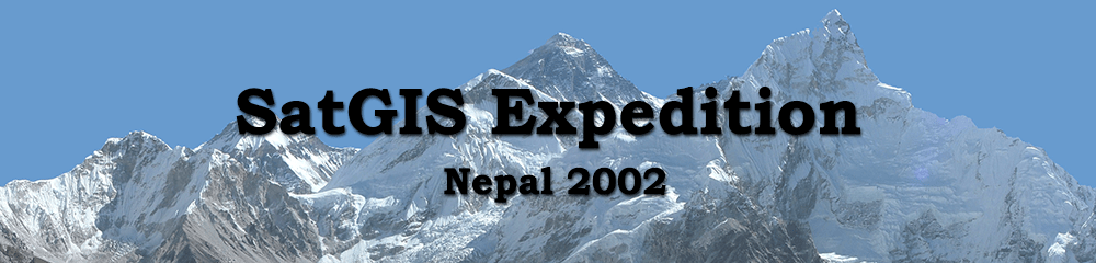 Header Nepal - SatGIS Expedition