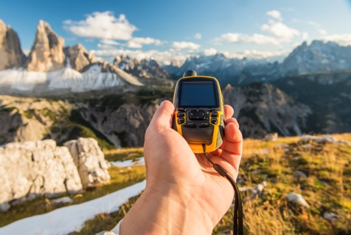 rilievo GPS Garmin trekking outdoor