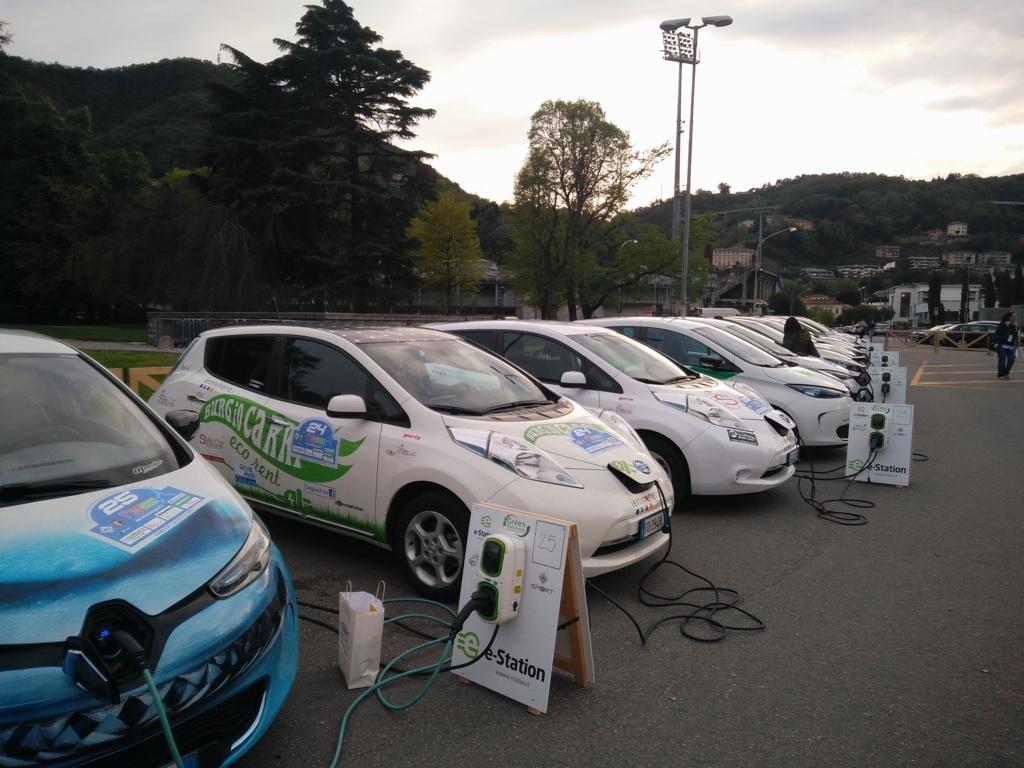 Auto in carica Aci Como Ecogreen
