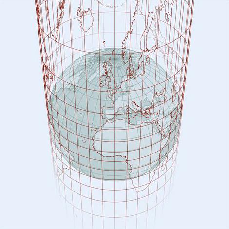 proiezione cilindrica terra