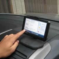 Posisi menaruh GPS nuvi dimobil