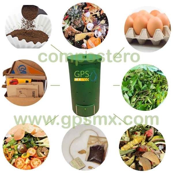 Composteros 200 Lts productos para compostero GPSMX