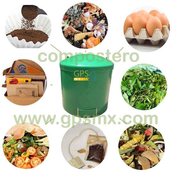 Composteros 350 Lts productos para compostero GPSMX