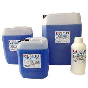 Presentaciones 1 Polydex® Algicida Bactericida y Fungicida para el tratamiento de agua potable en embotelladoras, estanques, piraguas, lagunas, tanques de almacenamiento grado alimenticio, certificado NSF
