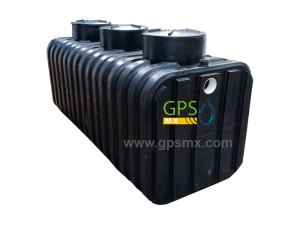 Microplanta de tratamiento de agua residual Gpsmx Modelo 2500 Reforzada K60 3 módulos