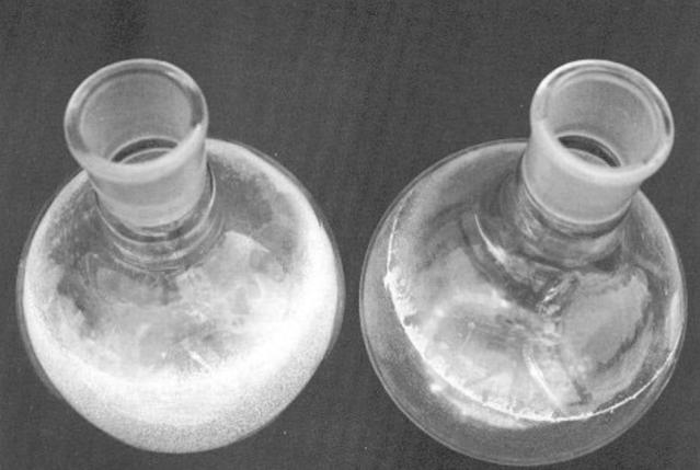 Elcla descalcificador magnético Elimina sarro Fig.1 Aspecto de los contenedores después de la prueba en condicione estáticas ELCLA