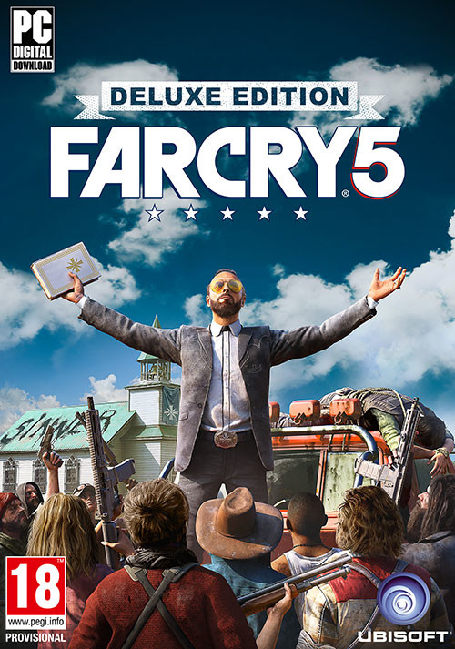 Far Cry 5   Deluxe Edition  Uplay CD Key  for PC   Buy now Far Cry 5   Deluxe Edition   Cover