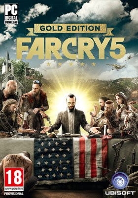 Far Cry 5 - Gold Edition - Packshot