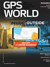 gps world - july 2018