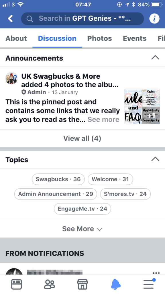 Facebook Quick Tip - Use Topic Tags to find relevant posts in a group