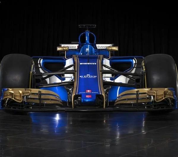 A nova Sauber