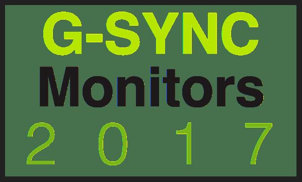 g-sync monitor list