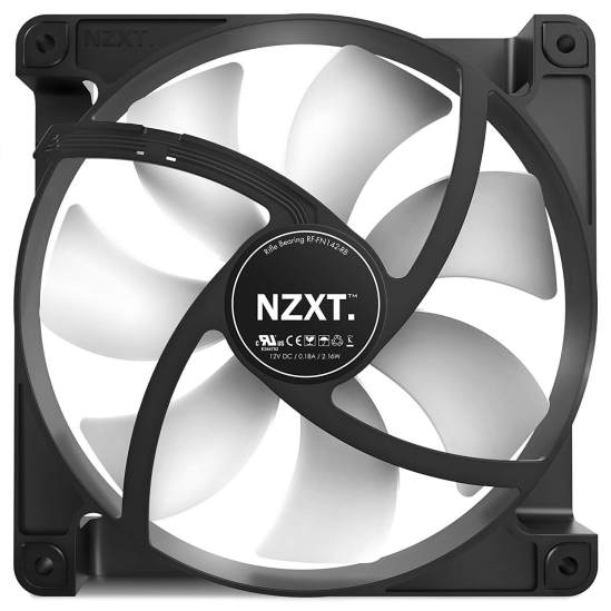 NZXT FN V2 Quietest Case Fan