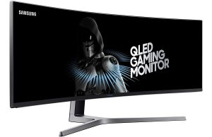 Samsung 49 in Super Ultra Wide QLED Monitor