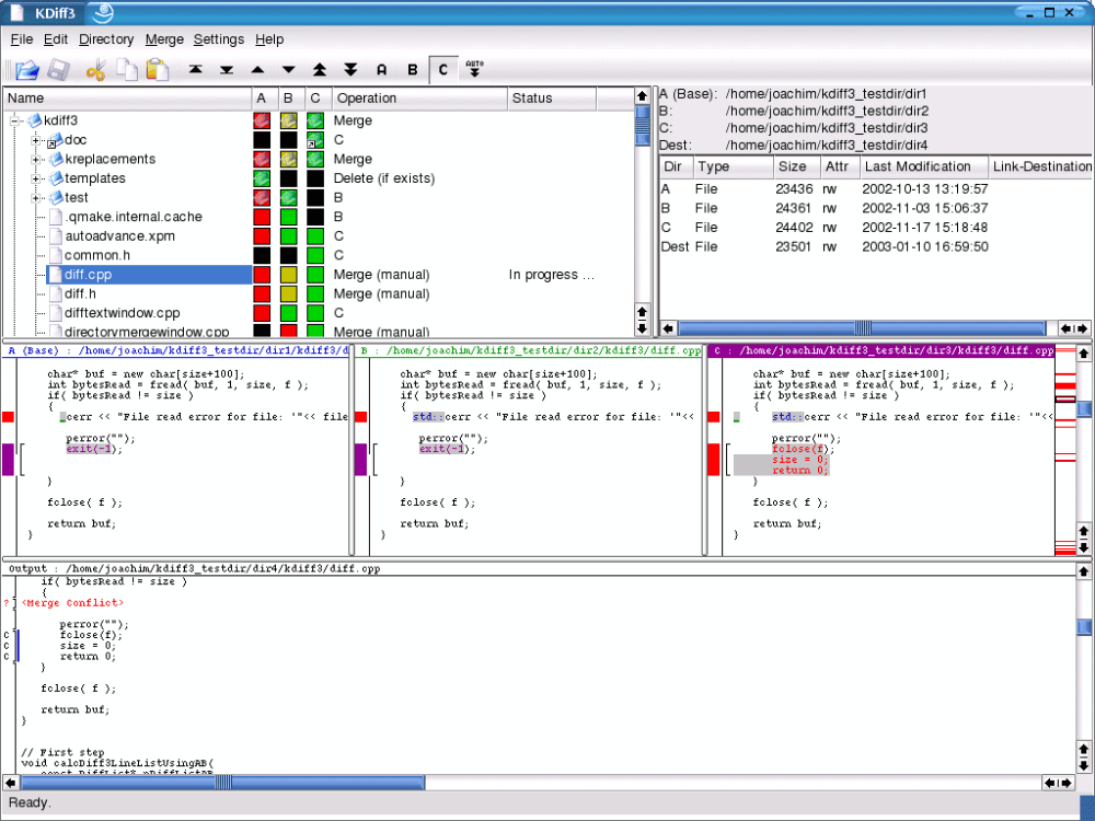 Visual Diff Tools in Linux (4/4)