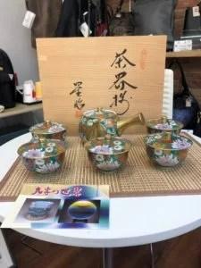 伝統工芸の九谷焼 茶器 高額買取