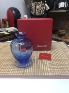 バカラ 花瓶 アクアレーユ 高額買取