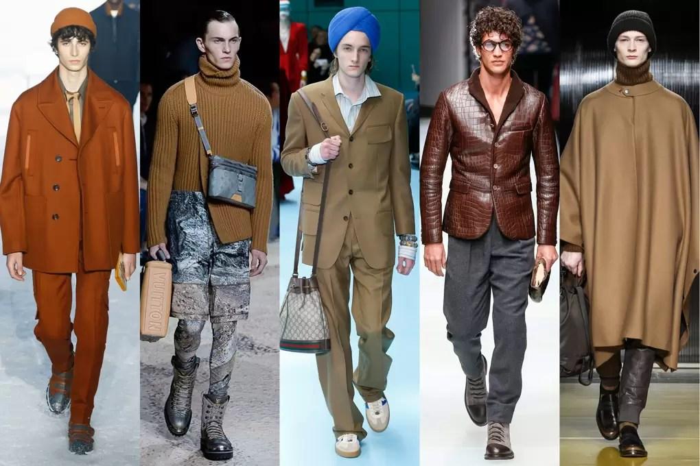 Trendy Jesień Zima 2018/2019 Moda Męska