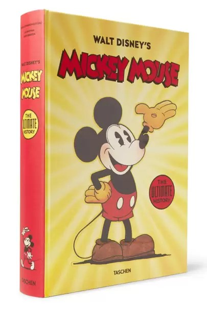 Walt Disney's Mickey Mouse: The Ultimate History Hardcover Book