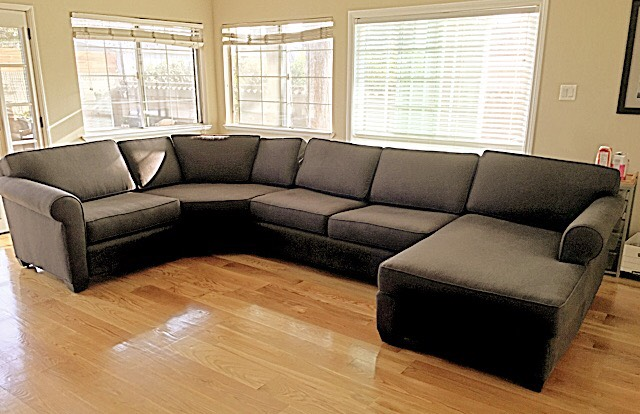 Built In Sectional Sofa, 10u0027 X 8u0027