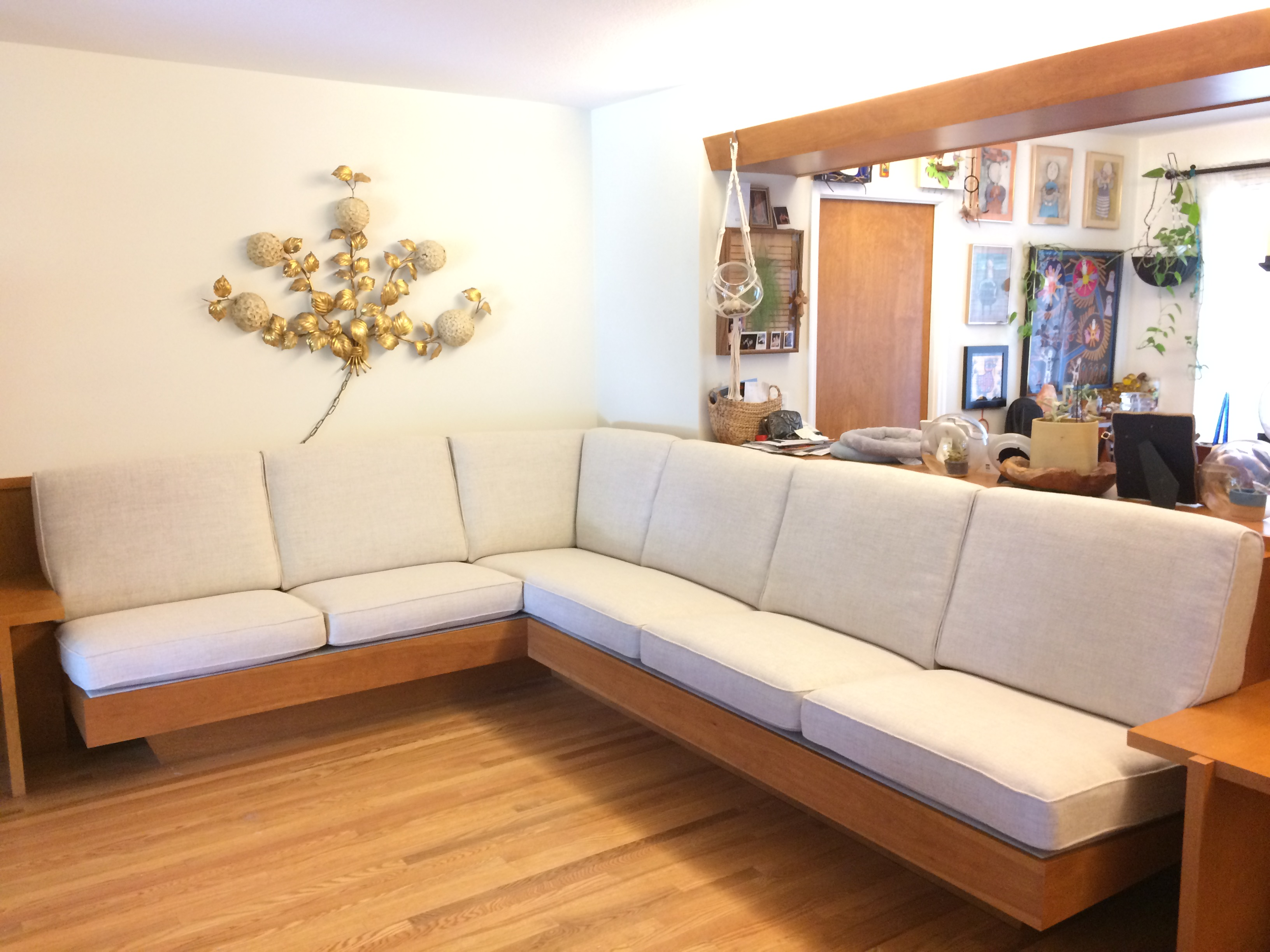 Built In Sectional Sofa 10 X 8 Gq Interior Handcrafted Furniture