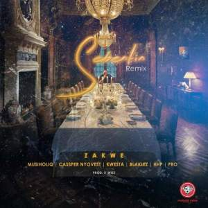 Zakwe - Sebentin (Remix) ft. Cassper Nyovest, Kwesta, Blaklez, HHP, Musiholiq & Pro. Latest south african music