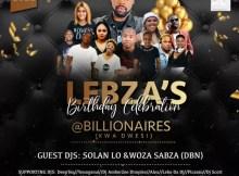 Woza Sabza - Trip to Billionaires (Lebza's Birthday Promo Mixtape)