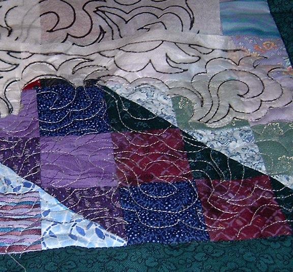 Tissue Paper Quilt Marking (5/6)