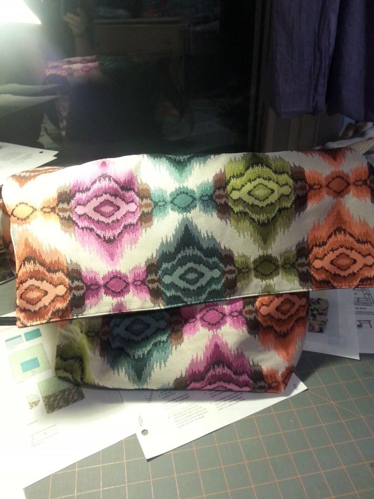 Tada .. Messenger Bag done (4/5)