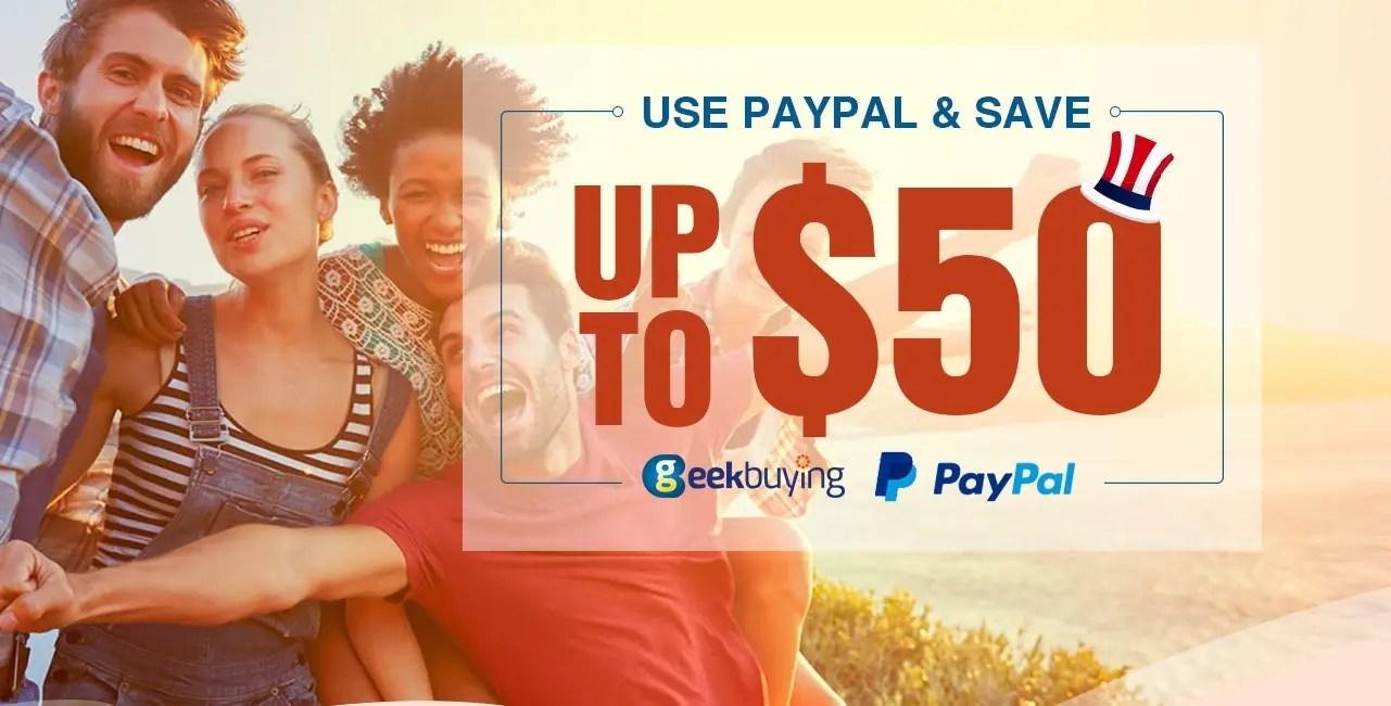 5d86c9f9cc8 Geekbuying: έχετε Paypal; έχετε έκπτωση έως και 50$ σε κάθε αγορά ...
