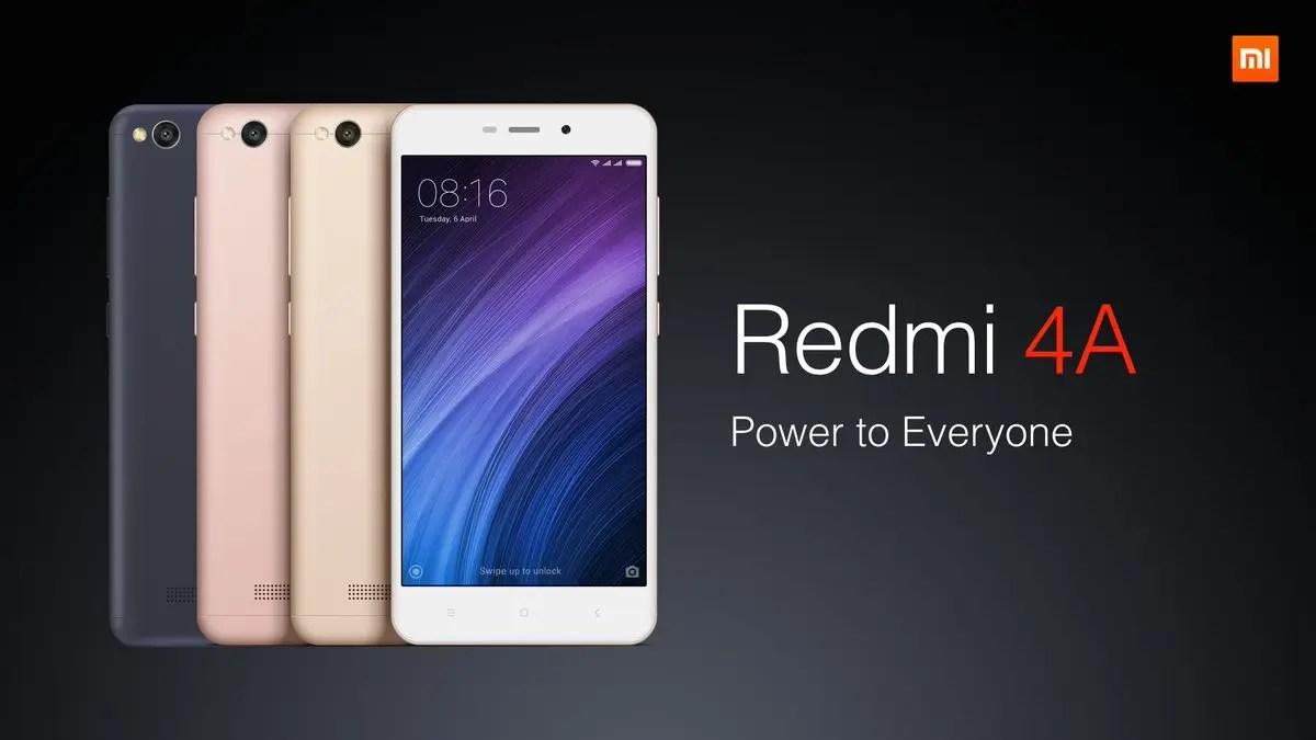 Xiaomi Redmi 4A: «αρπάξτε» το μικρό στα 85€! [coupon]