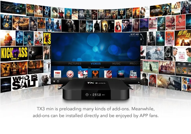 Tanix TX3 Mini TV Box