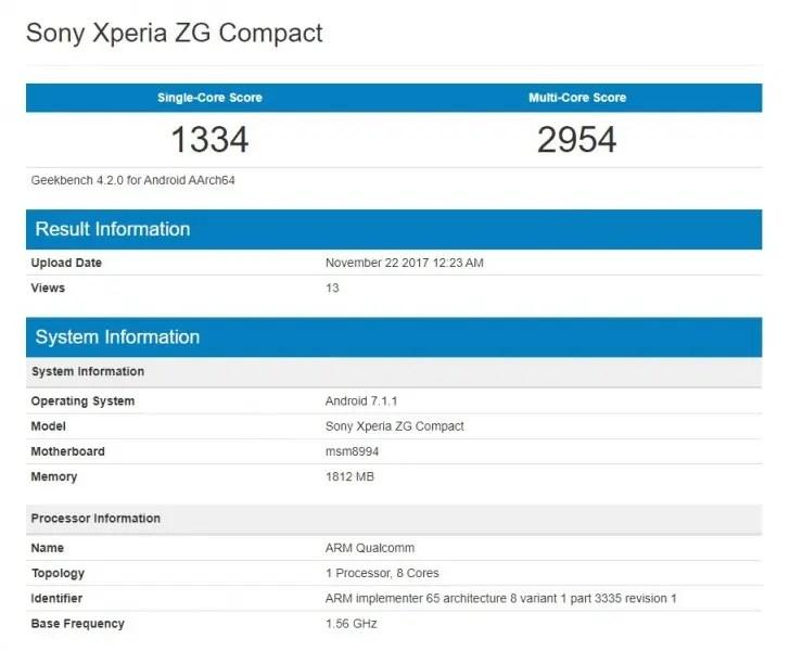 Xperia ZG Compact
