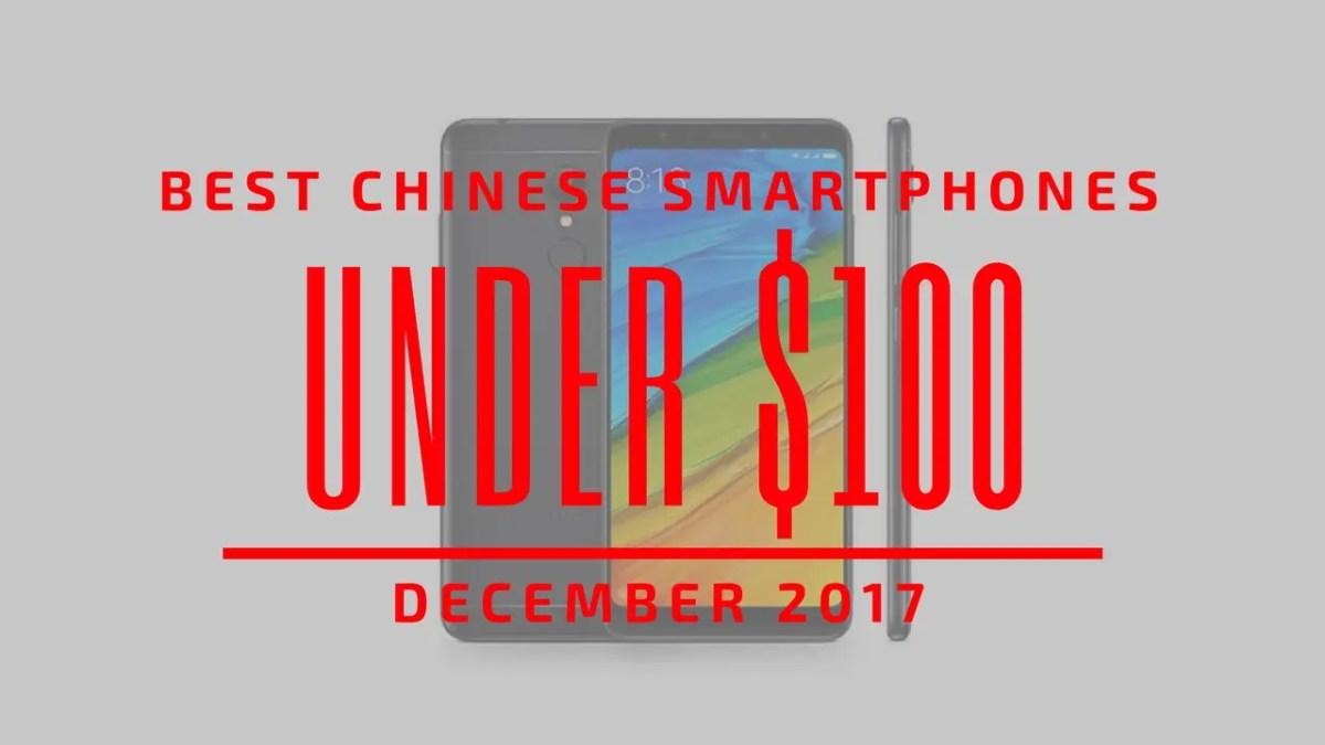 TOP: 5 κορυφαία κινέζικα smartphones με τιμή κάτω από $100 (Δεκ. 2017)