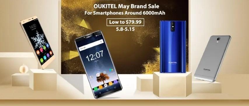 Oukitel Brand Sales