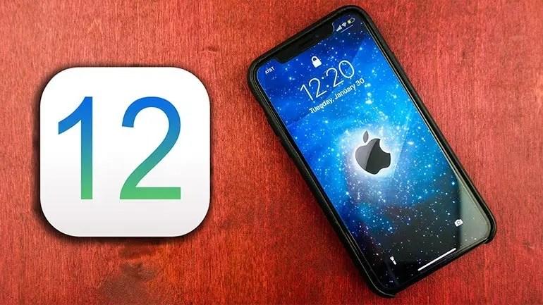 iOS 12