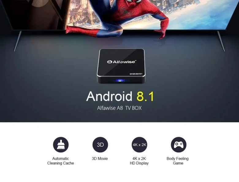 Alfawise A8 TV Box