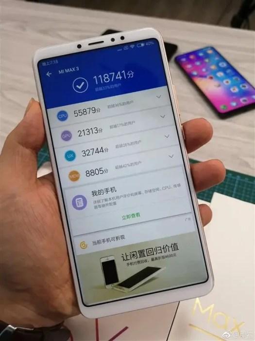 Xiaomi Mi Max 3