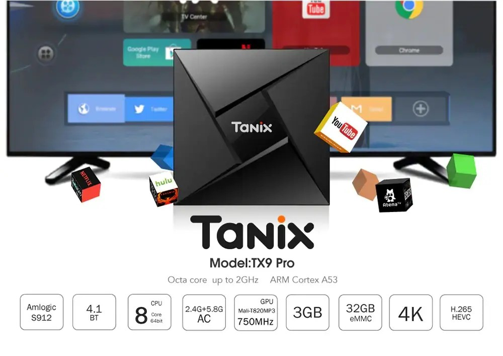 Tanix TX9 TV Box